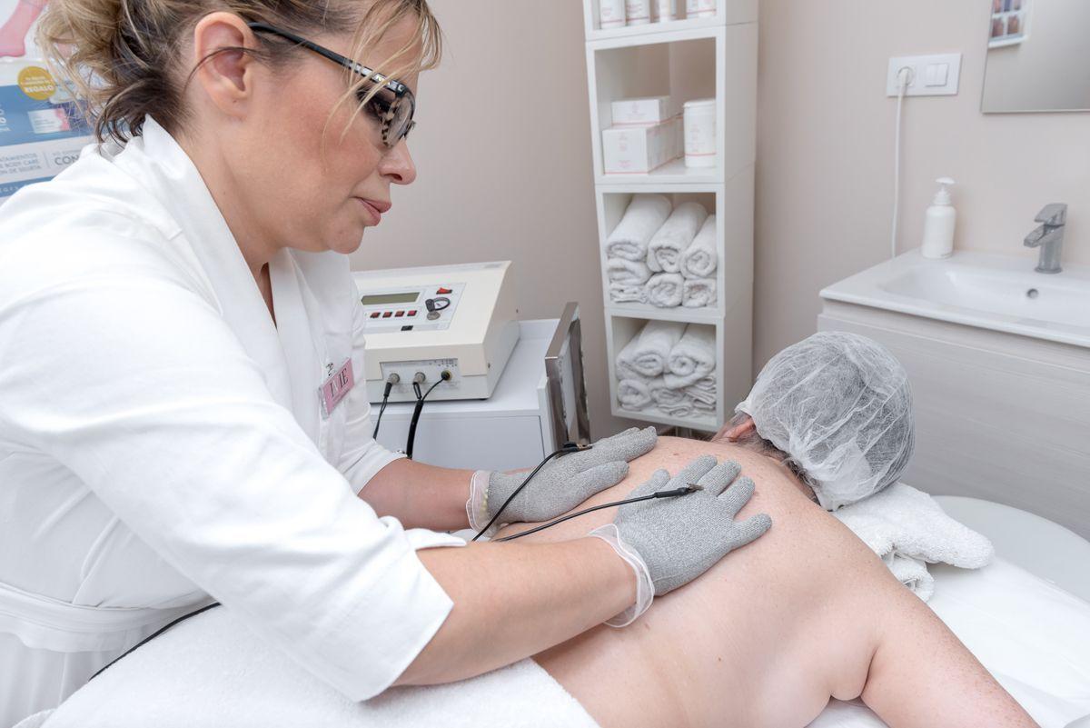 tratamiento dolores espalda electroestumulacion