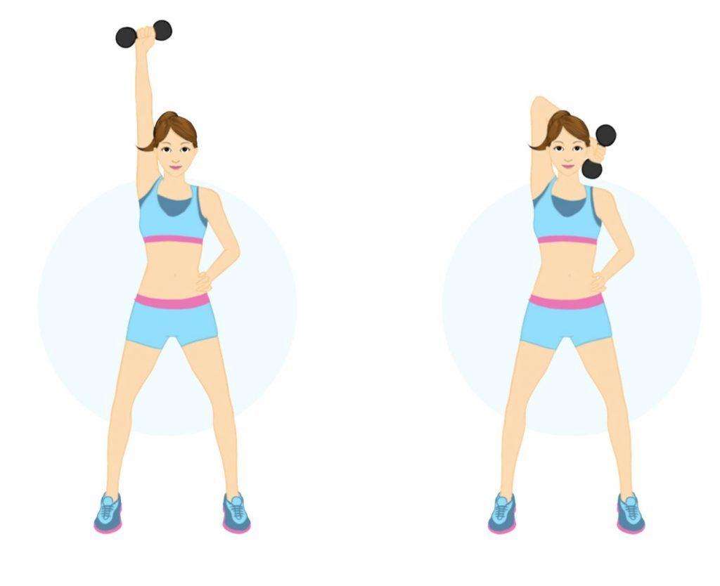 ejercicios perder volumen brazos