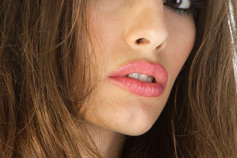 labios tratados con ácido hialurónico